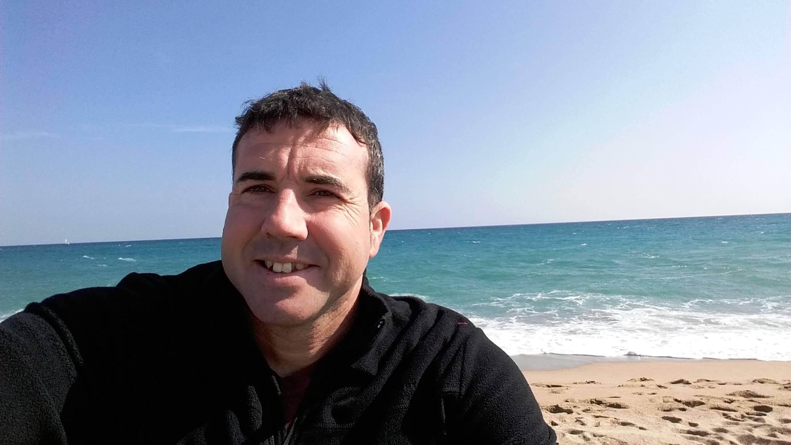 Paco Orozco y el mar